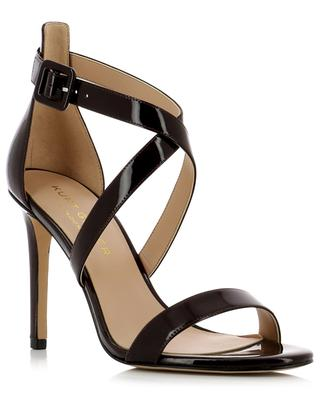 Knightsbridge patent leather sandals KURT GEIGER LONDON