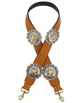 Regina leather shoulder strap KATE CATE