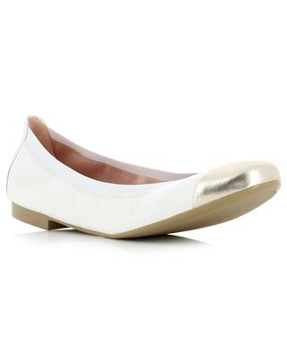 Shirley smooth leather ballet flats PRETTY BALLERINAS