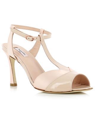 Sandales en satin et cuir verni Irma REPETTO