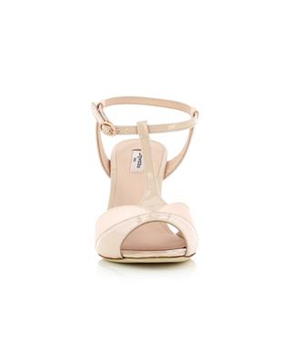Sandalen aus Satin und Lackleder Irma REPETTO