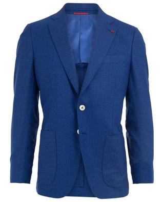 Gregory wool and silk blazer ISAIA