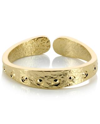Lune gold plated brass ring LOVELY DAY