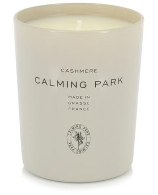 Cashmere scented candle CALMING PARK