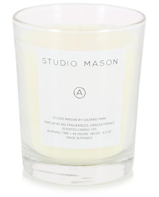A scented candle CALMING PARK