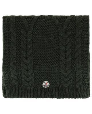 Schal aus Wolle und Alpaka MONCLER