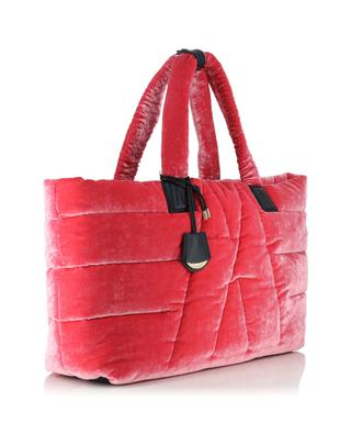 Powder velvet tote bag MONCLER