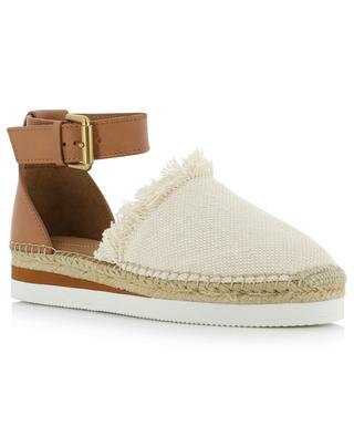 Glyn leather and fabric espadrilles SEE BY CHLOE