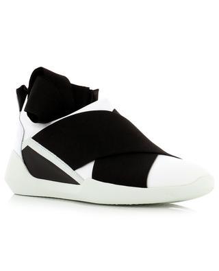 Slip-on Sneakers aus Stoff und Leder VIC MATIE