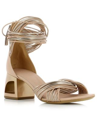 Heeled leather sandals VIC MATIE