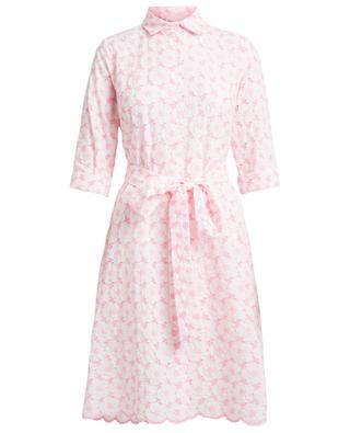 Poppy embroidered shirt dress LISA MARIE FERNANDEZ