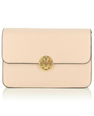 Chelsea Convertible grained leather bag TORY BURCH