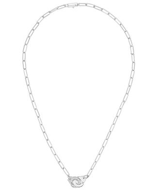 Collier en or blanc Menottes R10 DINH VAN