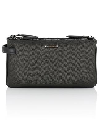Saffiano leather purse ERMENEGILDO ZEGNA