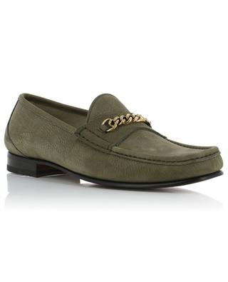 Nas grained leather loafers TOM FORD