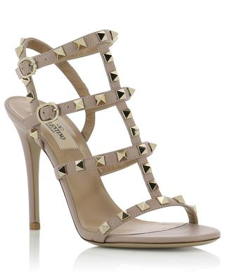 Rockstud heeled leather sandals VALENTINO