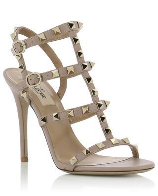 Rockstud heeled leather sandals VALENTINO