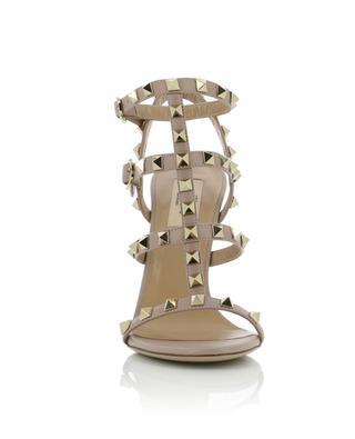 Sandales à talon en cuir Rockstud VALENTINO