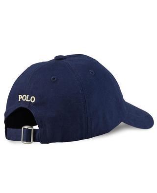 Bestickte Baseballkappe aus Baumwolle Pony POLO RALPH LAUREN
