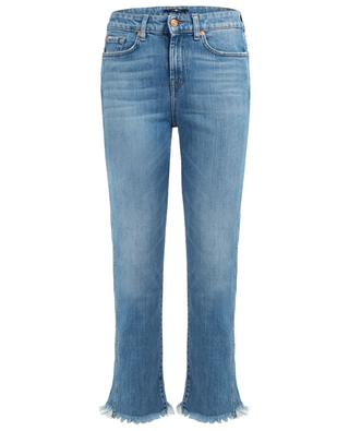 Gerade, gekürzte Jeans im Used-Look Erin 7 FOR ALL MANKIND