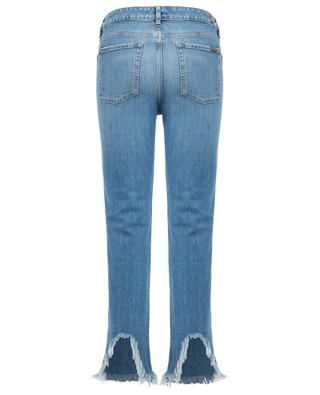 Erin straight cropped distressed jeans 7 FOR ALL MANKIND