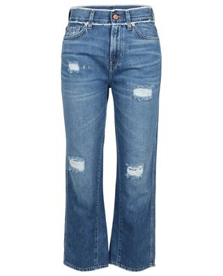 Skinny Baumwolljeans im Used-Look Kiki 7 FOR ALL MANKIND
