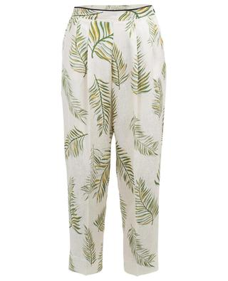Printed silk floaty trousers FORTE FORTE