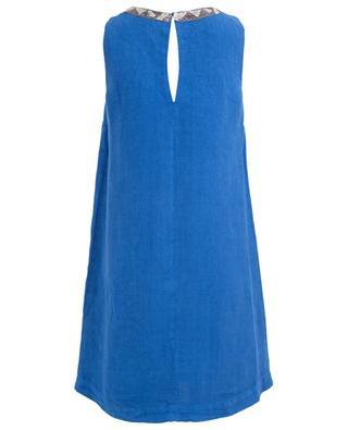 Kurzes Kleid aus Leinen 120% LINO