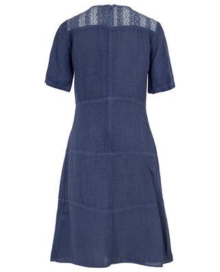 Short sleeved linen dress 120% LINO