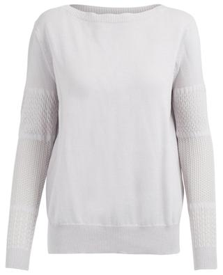 Cotton, silk and linen jumper ZIMMERLI