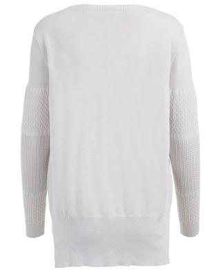 Pullover aus Baumwolle, Seide und Leinen ZIMMERLI
