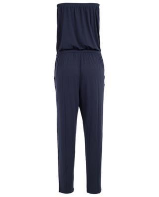 Micro modal blend jumpsuit BLUE LEMON