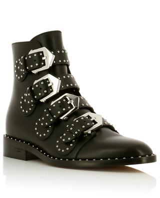 Studded leather ankle boots GIVENCHY