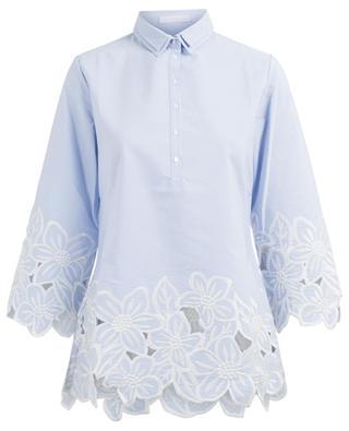 fc81463e39a01b Malia embroidered blouse ANNE FONTAINE ...