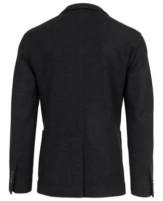 Blazer tricot en laine vierge et coton BOGLIOLI
