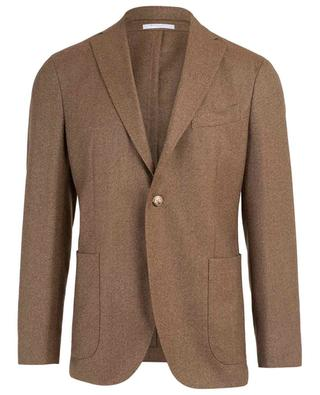 Textured virgin wool blazer BOGLIOLI
