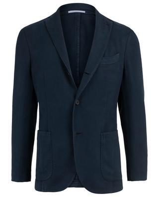 Textured cotton blazer BOGLIOLI