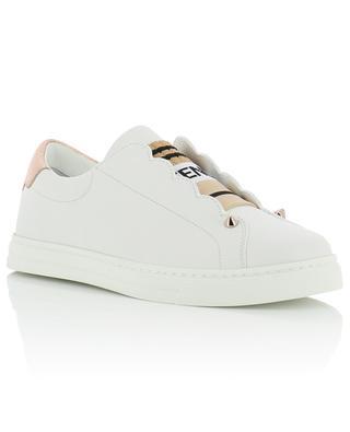 Leather slip-on sneakers FENDI