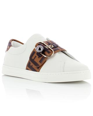 Leather sneakers FENDI