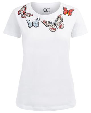 T-Shirt aus Baumwollmix QUANTUM COURAGE