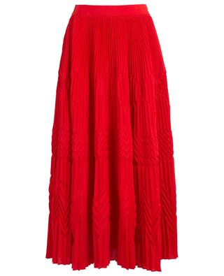 Crepe de Chine long skirt GIVENCHY