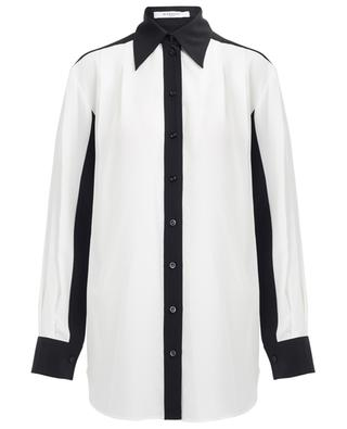 Two-toned silk shirt GIVENCHY