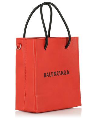 Shopper aus Leder Shopping Tote XXS BALENCIAGA