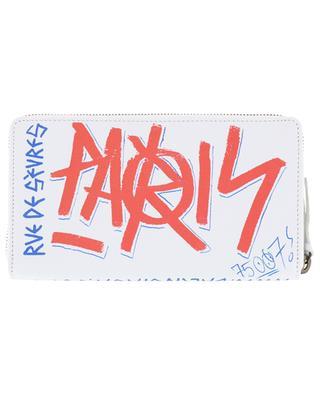 City Graffiti leather wallet BALENCIAGA