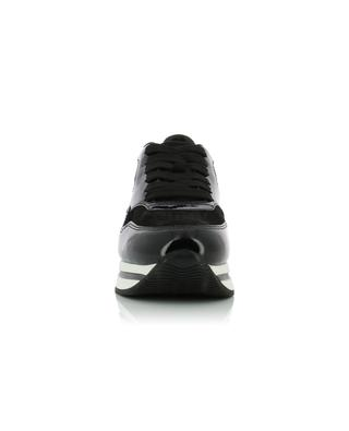H222 suede and patent leather sneakers HOGAN