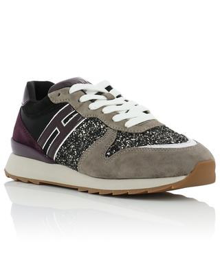 R261 suede and fabric sneakers HOGAN