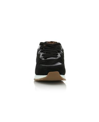 R261 suede, fabric and ponyhair sneakers HOGAN
