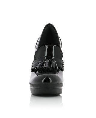 Escarpins en cuir verni H391 Loafer HOGAN
