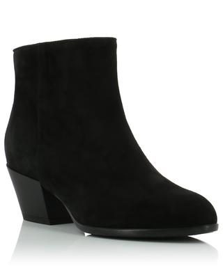 H401 suede ankle boots HOGAN