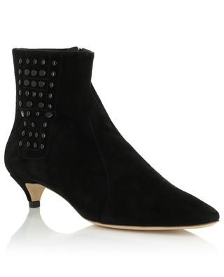 Studded suede ankle boots TOD'S
